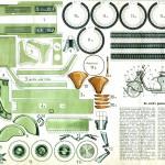 Lambretta books, Paper model Lambretta LD
